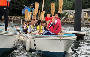 ペーロン漕艇