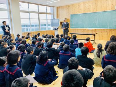 生徒会引き継ぎ式